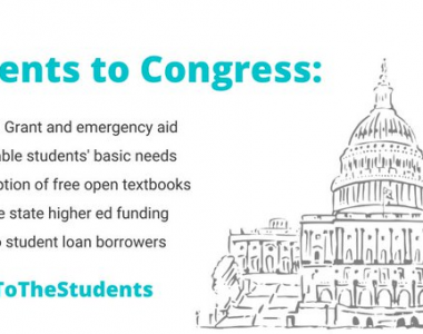 Student Groups Outline COVID-19 Higher Ed Funding Needs